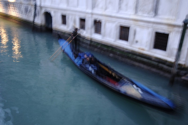 A photo from Venice that shows camera shake