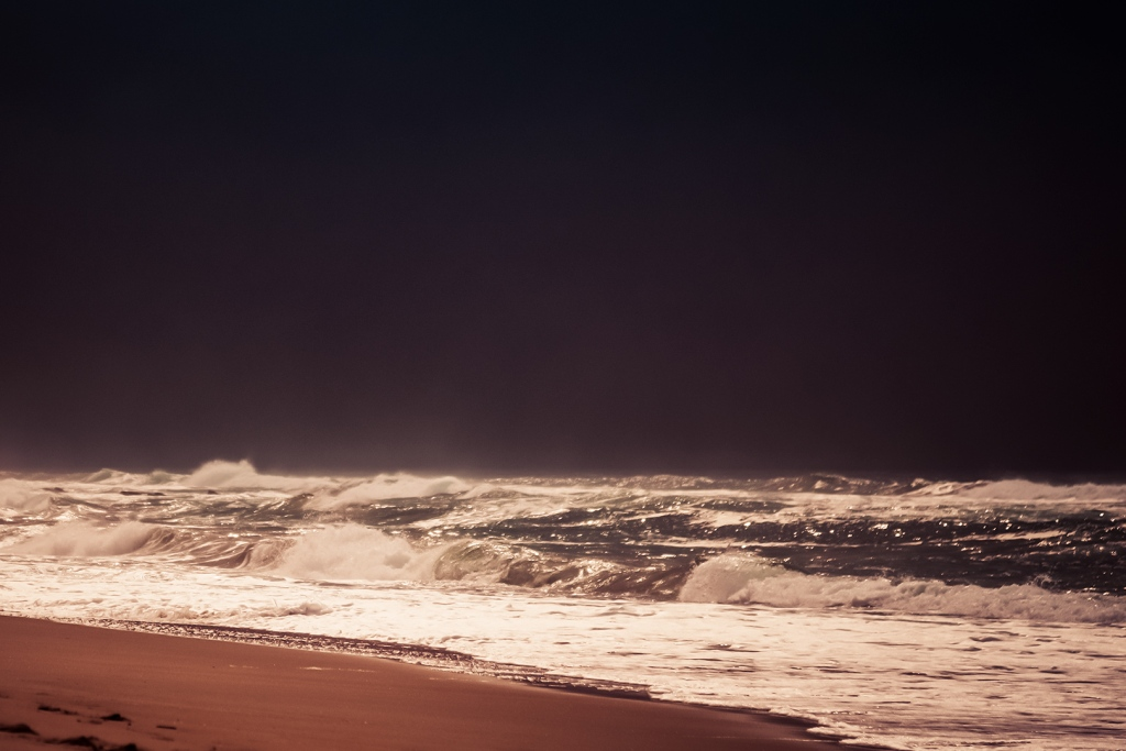 """alt=""""unusual weather provides opportunity for dramatic landscape like this beach"""""""