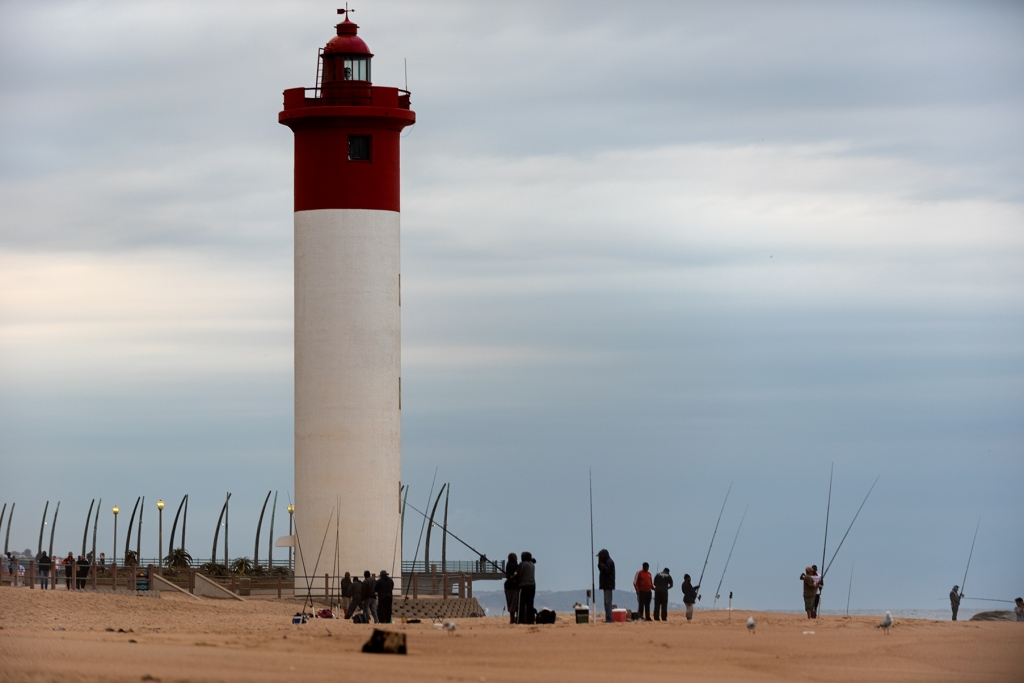 """alt=""""lighthouse is the focal point and subject of the photograph"""""""